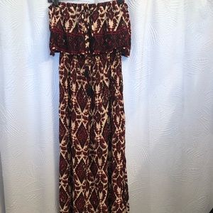 New with tags Printed Maxi Dress